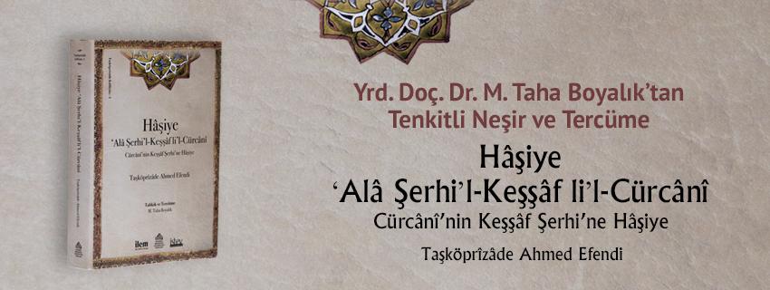Yrd. Doç. Dr. M. Taha BOYALIK'tan Tenkitli Neşir ve Tercüme